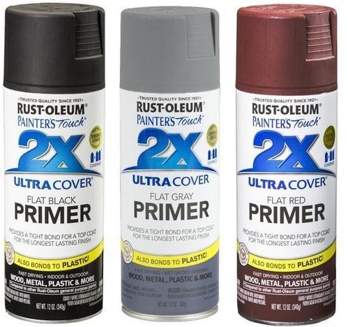 Rust Oleum Painter''s Touch Ultra Cover 2x Primer Spray Paint