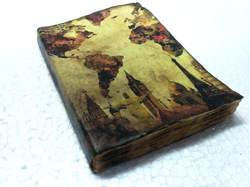 Vintage Handmade Paper Journal