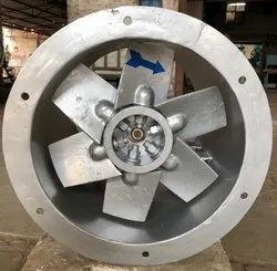 Cast Aluminium High Pressure Axial Flow Fan for Industrial, Capacity: 2000 CFM to 200000 CFM
