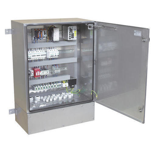 Stainless Steel Electrical Panel on
