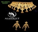 Latest Gold Plated Chokar Jewelry
