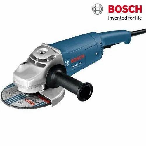 Bosch GWS 22-180 Heavy Duty Professional Large Angle Grinder, 8500 rpm, 2200 W