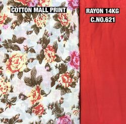 Cotton Mall Print Fabric