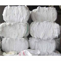 Banian White Waste Fabric Cuttings
