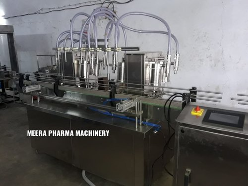 Automatic Volumetric Liquid Bottle Filling Machine