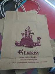 Printed Brown Paper Bags
