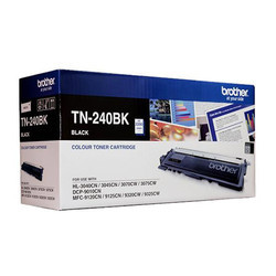Brother TN 240 Black Toner Cartridge