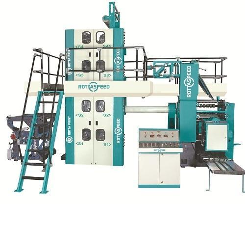 Automatic 4 Pages Colour Fully Loaded Newspaper Printing Machine, for For Newspaper Printing