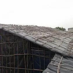 Folding Bamboo Sheds