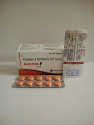 Pregabalin 75mg   Nortriptyline 10mg Tablets