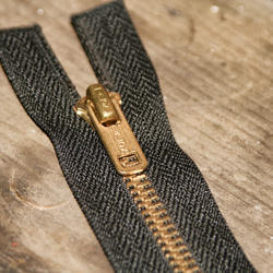 Brass Nickle Free Sliver Finish Zipper