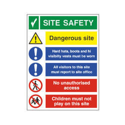 Safety Sign Boards Installation Services