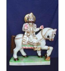 Marble Baba Ramdev Statue
