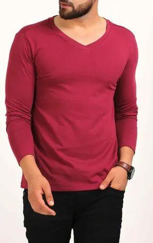 53e7c5d88 Mens V Neck T-Shirts - Mens V Neck T-Shirt Manufacturer from Gurgaon