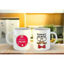 Ceramic Personalized White Coffee Mug, Packaging Type: Box