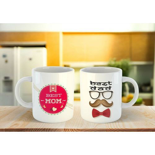 Personalized White Coffee Mug