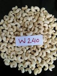 Cashew Nut W240, Packaging Type: Tin, Packaging Size: 10 kg