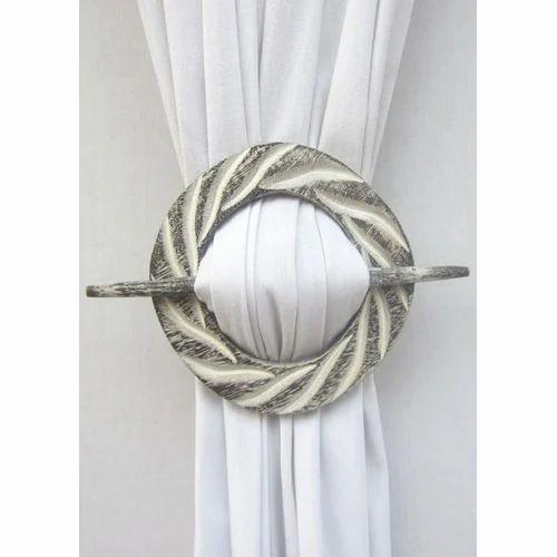 Designer Circle Curtain Tie Back