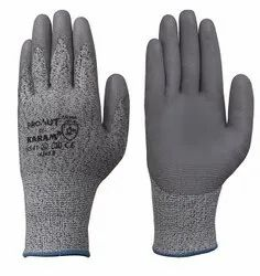 Karam HPPE Gloves with Grey PU Coating