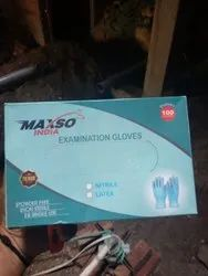 Rectangular Printed Box For Latex And Nitrile Gloves