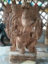 Wooden Ganesha 3 Ft Ready Pieces