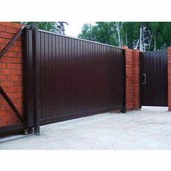 Slide Brown Retractable Gate