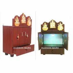 Pooja Wooden Cupboard