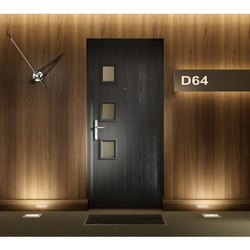 Hinged Interior Modular Wooden Door, For Home, Size: 6 X 3 Feet