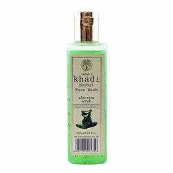 Vagad's Khadi Aloevera Scrub Face Wash, Packaging Size: 200 mL