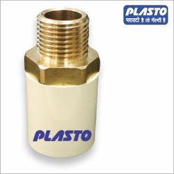 Plasto CPVC Brass Male Threaded Adapter