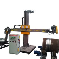 Automatic Two In One Polishing & Dish Head Interior & Exterior Surface Grinding,Buffing Machine