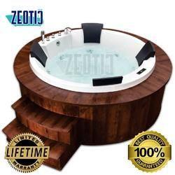 Adelina Jacuzzi Acrylic Hydromassage Bathtub