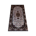 Silk Printed Designer Floor Carpet, Shape: Rectangular