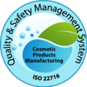 ISO 22716:2007 (Cosmetics) Certification