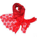 Merino Wool With Indonesian Lace Scarves