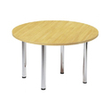 Ss, Wooden Round Sc-con106 Discussion Table, Seating Capacity: 4