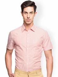 Beige Formal Mens Shirts