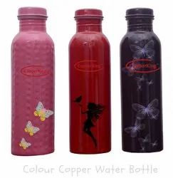 Colour Copper Water Bottle