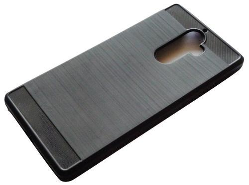 new product 90c22 5f0d5 Hybrid Brushed Soft Rubber Back Case Lenovo K8 Note