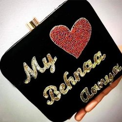 Personalized Wedding Clutches