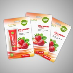Lip Balm Blister Packaging Cards