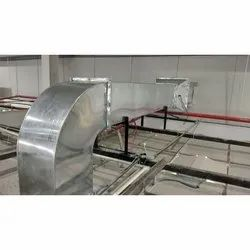 Electric Galvanised Iron Air Duct, for Ventilation