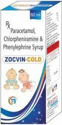 Paracetamol, Chlorpheniramine, Phenylephrine Syrup