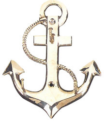 Brass Anchor Key Hanger