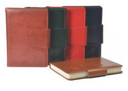 Synthetic Pu Leather Personalized Corporate Organizer, For Daily Notes, Rectangle