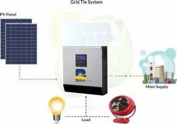 Grid Tie Connected Solar Kit