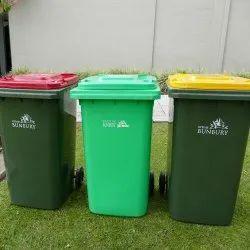 Plastic Waste Bins, Capacity: 11-15 Liters