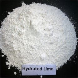 White Hydrated Lime Powder