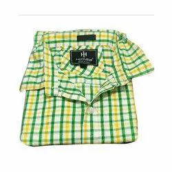 Meesurya Casual Wear Cotton Check Shirts, Size: M-xl, Machine wash