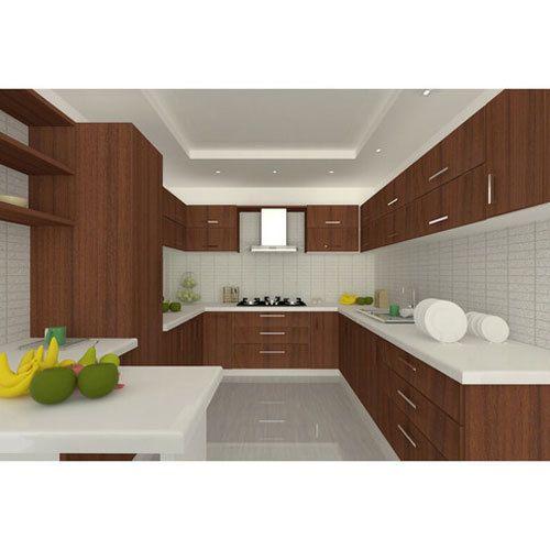 wooden modular kitchen lakdi ka modular rasoi ghar modular wooden